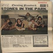 Click here for more info about 'Rolling Stones - Evening Standard Souvenir Friday July 4 1969'