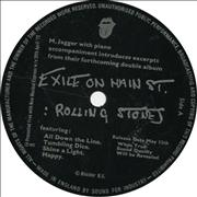 Click here for more info about 'Rolling Stones - Excerpts From Exile On Main St'