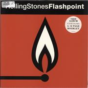 Click here for more info about 'Rolling Stones - Flashpoint - Cover Stickers - EX'