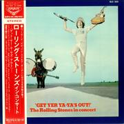 Rolling Stones Get Yer Ya-Ya's Out Japan vinyl LP