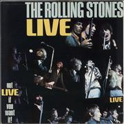 Click here for more info about 'Rolling Stones - Got Live If You Want It - red Decca label - VG Sleeve'