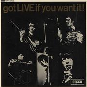 Click here for more info about 'Rolling Stones - Got Live If You Want It EP - 1st'
