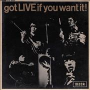 Click here for more info about 'Rolling Stones - Got Live If You Want It EP - 1st - EX'