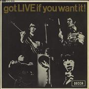 Click here for more info about 'Rolling Stones - Got Live If You Want It EP - 1st - VG'
