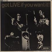Click here for more info about 'Rolling Stones - Got Live If You Want It EP - 1st - WOL'