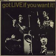 Click here for more info about 'Rolling Stones - Got Live If You Want It EP - 2nd - EX'