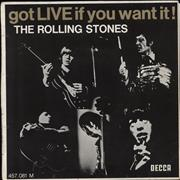 Click here for more info about 'Rolling Stones - Got Live If You Want It E.P. - 7-65 - Boxed'