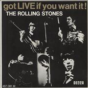 Click here for more info about 'Rolling Stones - Got Live If You Want It EP - EX'