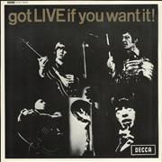 Click here for more info about 'Rolling Stones - Got Live If You Want It EP'