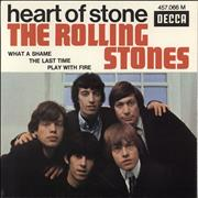 Click here for more info about 'Rolling Stones - Heart Of Stone EP - 2nd - WOL'
