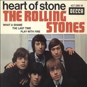 Click here for more info about 'Rolling Stones - Heart Of Stone EP - 2nd'