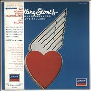 Click here for more info about 'Rolling Stones - Heartbreakers: 14 Love Ballads + Poster'