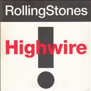 Click here for more info about 'Rolling Stones - Highwire - 3 Track'