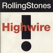 Click here for more info about 'Rolling Stones - Highwire - 4 Track'