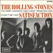 Click here for more info about 'Rolling Stones - (I Can't Get No) Satisfaction - 2nd'