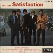 Click here for more info about 'Rolling Stones - (I Can't Get No) Satisfaction - 9-69'