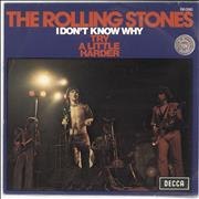 Click here for more info about 'Rolling Stones - I Don't Know Wy'