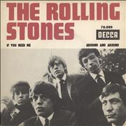 """Rolling Stones If You Need Me France 7"""" vinyl"""