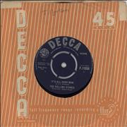 Click here for more info about 'Rolling Stones - It's All Over Now - 1st - EX'