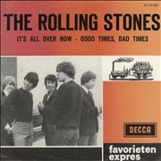 Click here for more info about 'Rolling Stones - It's All Over Now - Pink & Orange Sleeve'