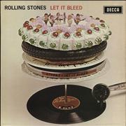 Click here for more info about 'Let It Bleed - Boxed + Poster - Red/Blue Holed Sleeve'