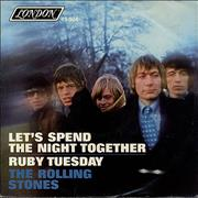 Click here for more info about 'Let's Spend The Night Together - 2nd - P/S'