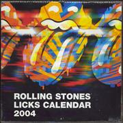 Click here for more info about 'Rolling Stones - Licks 2004 - Pack Of TEN Pyramid Calendars'