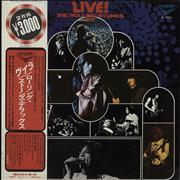 Click here for more info about 'Live! / The Rolling Stones Deluxe + Obi'
