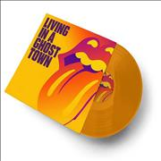 Click here for more info about 'Living In A Ghost Town - Orange Vinyl'