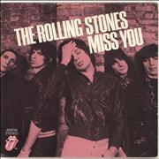 Click here for more info about 'Rolling Stones - Miss You - P/S'