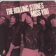 Click here for more info about 'Rolling Stones - Miss You - Pink Vinyl'