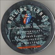Click here for more info about 'Rolling Stones - Mixed Emotions - tin + sticker'