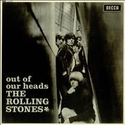 Rolling Stones Out Of Our Heads - 1st - EX UK vinyl LP