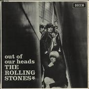 Click here for more info about 'Rolling Stones - Out Of Our Heads - 1st - G'