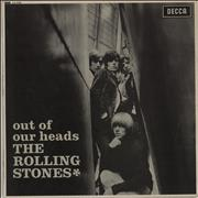 Rolling Stones Out Of Our Heads - 3rd - EX UK vinyl LP