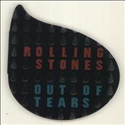 Click here for more info about 'Rolling Stones - Out Of Tears - Tear Shaped Pack'