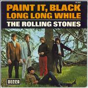 Click here for more info about 'Rolling Stones - Paint It Black - Hexagonal Logo Label'