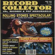 Rolling Stones Record Collector - June 1999 UK magazine