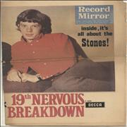 Click here for more info about 'Rolling Stones - Record Mirror No. 257'