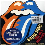 Click here for more info about 'Rolling Stones - Rock And A Hard Place - Tongue Sleeve/Sealed'