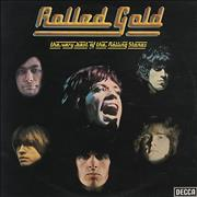 Click here for more info about 'Rolling Stones - Rolled Gold - Silver Label'