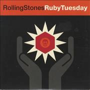 Click here for more info about 'Rolling Stones - Ruby Tuesday - Card P/S'