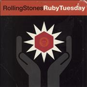Click here for more info about 'Rolling Stones - Ruby Tuesday - Card Sleeve / EX'