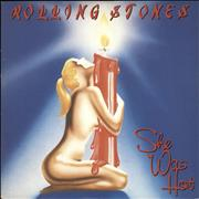 Click here for more info about 'Rolling Stones - She Was Hot - 4prong + Sleeve'