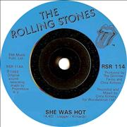 Click here for more info about 'Rolling Stones - She Was Hot - Injection'