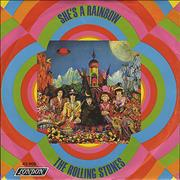 Click here for more info about 'Rolling Stones - She's A Rainbow - P/S'