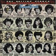 Click here for more info about 'Rolling Stones - Some Girls - Uncensored - Blue Title'