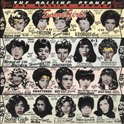 Click here for more info about 'Rolling Stones - Some Girls - Uncensored - Y/B/P/G & Red Title'