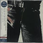 Rolling Stones Sticky Fingers - 180gram Clear Vinyl Japan vinyl LP