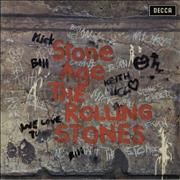 Click here for more info about 'Rolling Stones - Stone Age - Export Label'